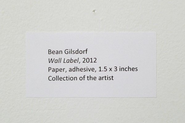 Art Show Label Template How to Label An Exhibition Burnaway
