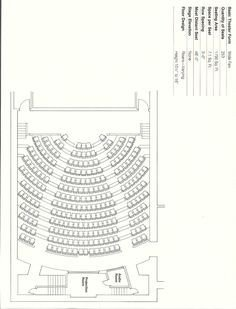 Auditorium Seating Chart Template 7 Best Auditorium & Fixed Seating Layout Templates Images
