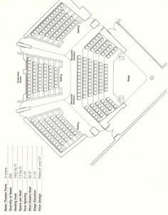 Auditorium Seating Chart Template This Auditorium Seating Layout and Dimensions Will Give