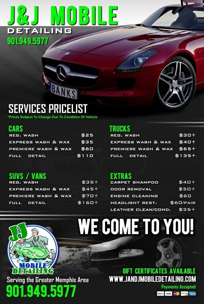 Auto Detailing Flyer Template 9 Best Check List Contracts Images On Pinterest