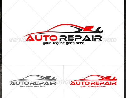 Auto Repair Logo Templates Auto Repair Logo Templates On Behance