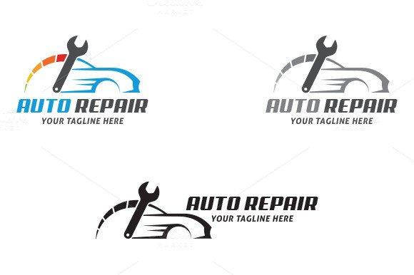 Auto Repair Logo Templates Auto Repair Logo Templates On Creative Market