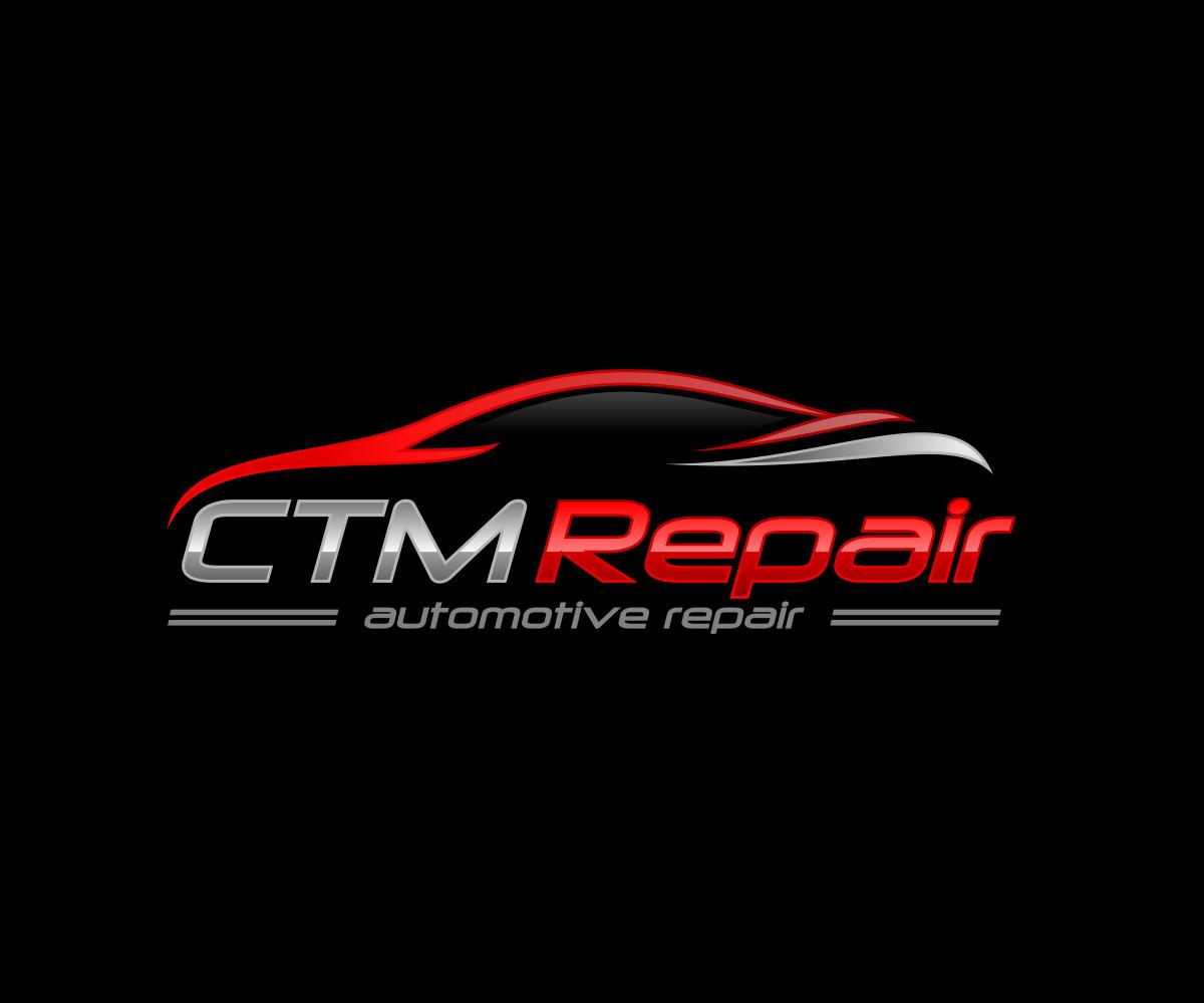 Auto Repair Logo Templates Bold Serious Automotive Logo Design for Ctm Repair