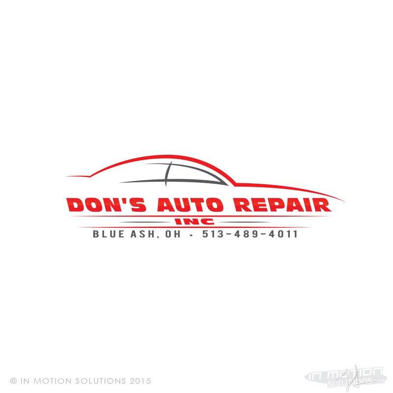 Auto Repair Logo Templates Don S Auto Repair Logo Design In Motion solutionsin