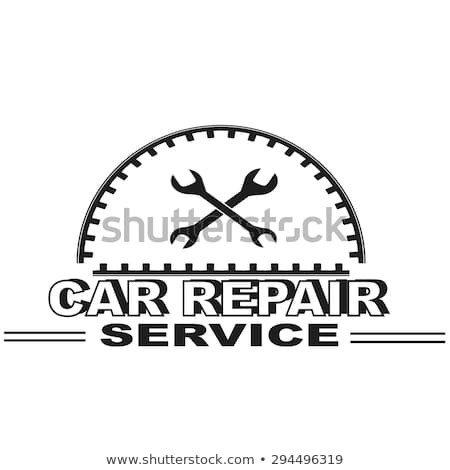 Auto Repair Logo Templates Vintage Mechanic Label Emblem Logo Vector Stock Vector