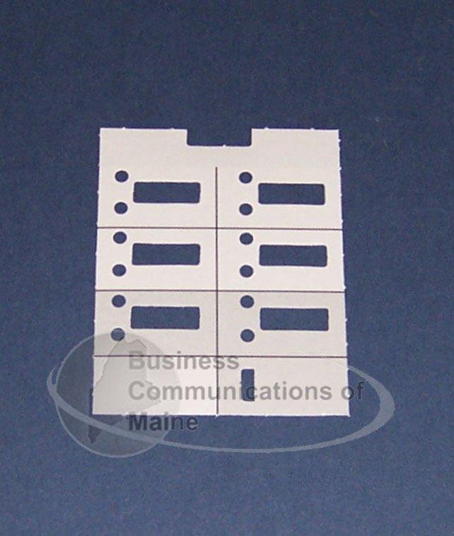 Avaya Phone Labels Word Template Lot Of 6 Avaya Lucent Partner 6 Phone Paper Desi Label New