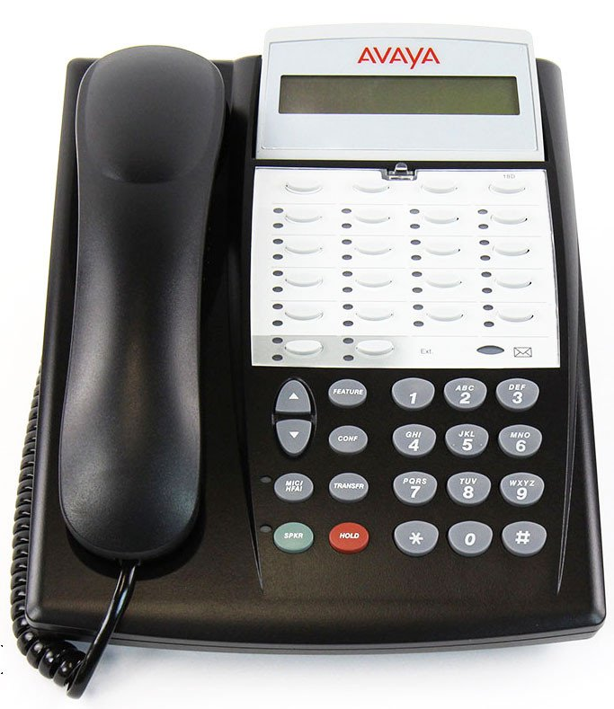Avaya Phone Labels Word Template Partner 18d Series 2 Telephone