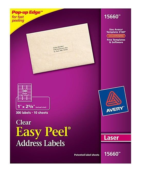 Avery 15660 Template Word Avery Address Label Template top Label Maker