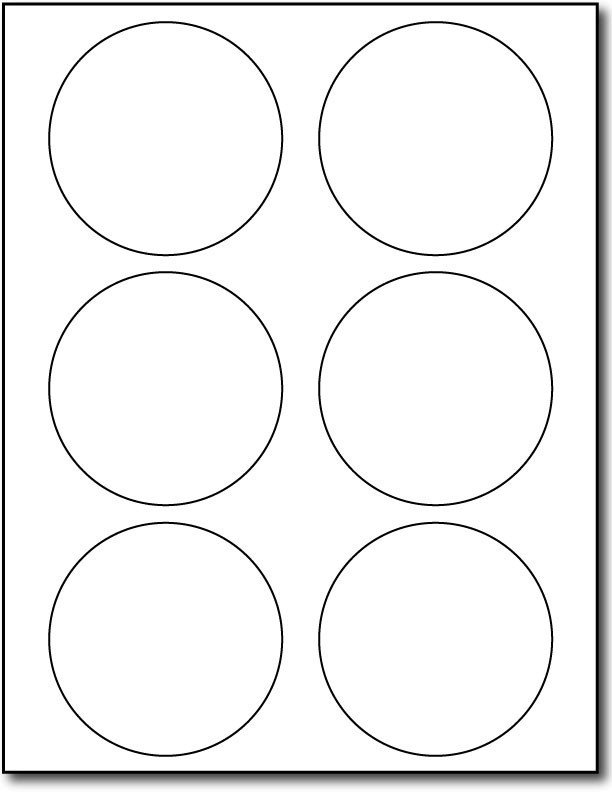 Avery 2 Round Label Template Avery Round Label Template