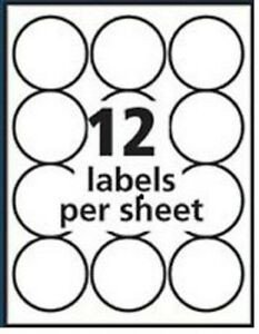 Avery 2 Round Label Template Avery Round Labels