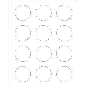 Avery 2 Round Label Template Templates Round Labels Foil 12 Per Sheet Adobe