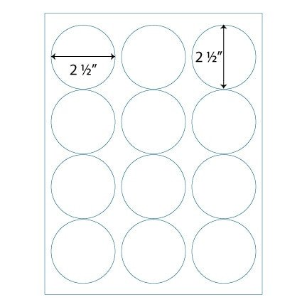 "Avery 2 Round Label Template wholesale 2 5"" Round Labels Avery 5294 Patible"
