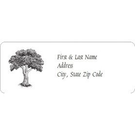 Avery 48860 Template for Word Templates Vintage Tree Address Labels 30 Per Sheet
