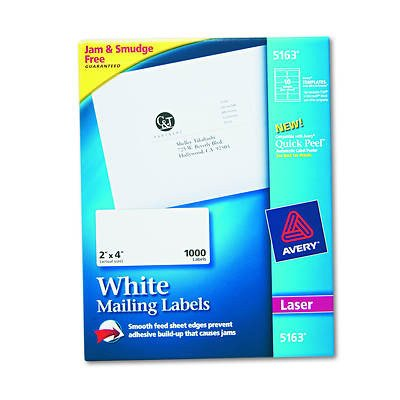 Avery 5163 Labels Template Avery 5163 Shipping Labels with True Block Technology 2