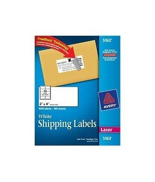 Avery 5163 Labels Template Avery Shipping Label 5163 Fice E
