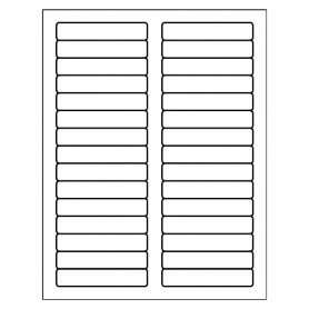 Avery 8593 Label Template Free Avery Template for Microsoft Word Filing Label 5066