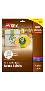 Avery Label Template 22825 Avery Print to the Edge Square Labels Kraft Brown 2 X 2