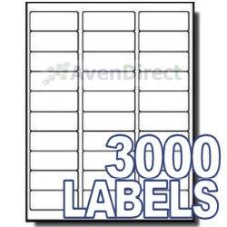 "Avery Label Template 5960 3000 Address Labels White Laser Inkjet 1""x2 5 8"" 5160"