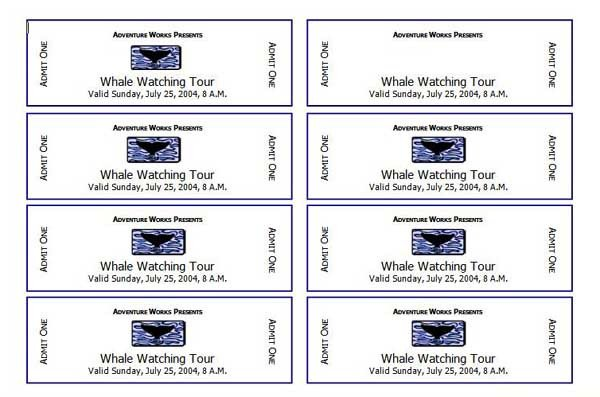 Avery Printable Tickets Template 7 Best Of Avery Printable event Tickets Avery