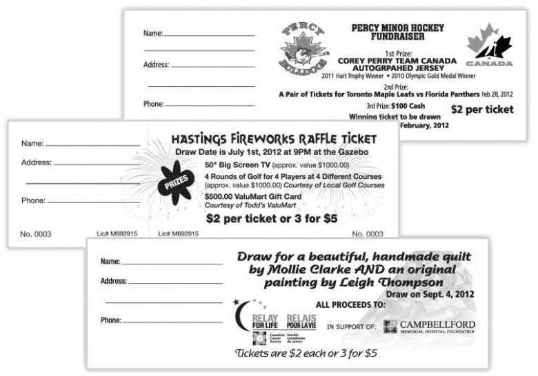Avery Printable Tickets Template Avery Printable Raffle Tickets