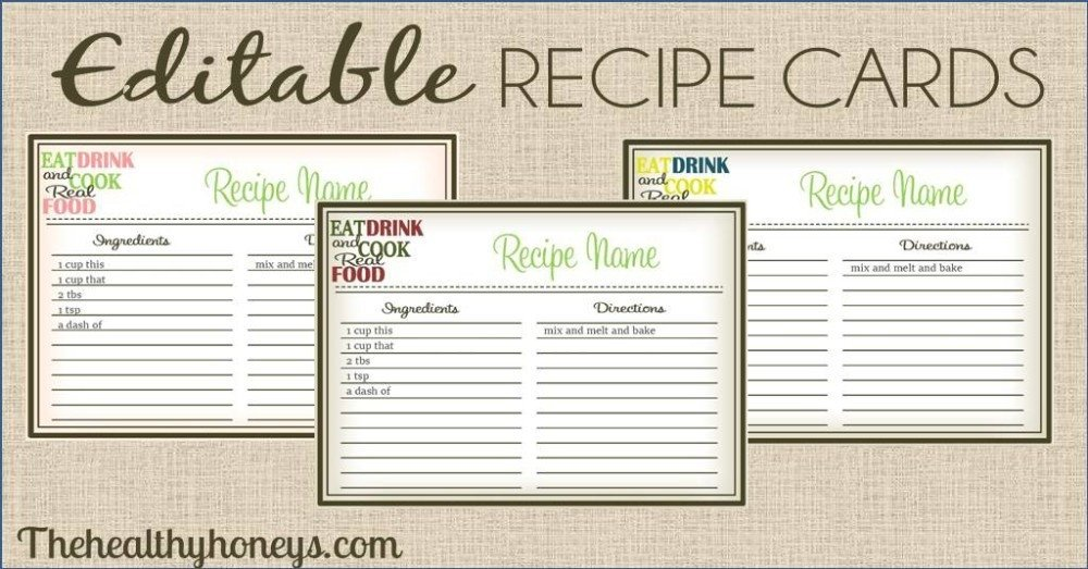 Avery Recipe Card Template Avery Free Recipe Templates Flowersheet