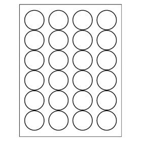 Avery Round Label Template Free Avery Template for Microsoft Word Round Label 5293
