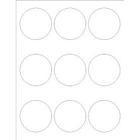 Avery Round Label Template Templates Glossy Print to the Edge Round Labels 9 Per