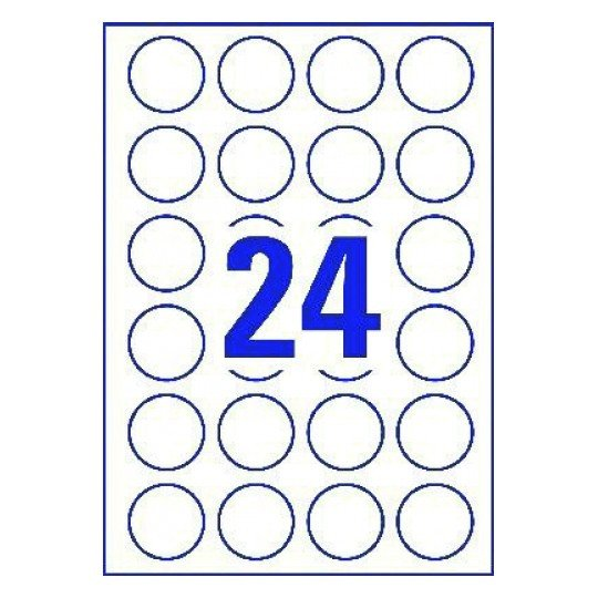 Avery Round Label Template Word Template for Avery L3415
