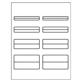 Avery Spine Label Template Free Avery Template for Microsoft Word Binder Spine Labels