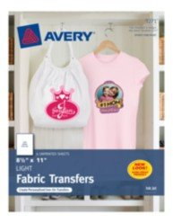 "Avery T Shirt Template Avery T Shirt Transfers for Inkjet Printers 3271 8 1 2"" X"