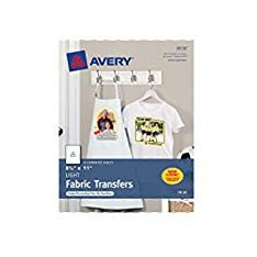Avery T Shirt Template Avery T Shirt Transfers for Inkjet Printers 8 5 X 11