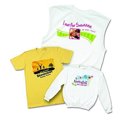Avery T Shirt Template Avery T Shirt Transfers for Inkjet Printers for Light