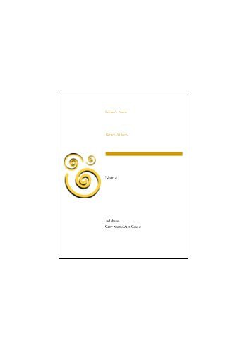"Avery Template 8593 Blue Spirals Shipping Label 11"" X 8½"""