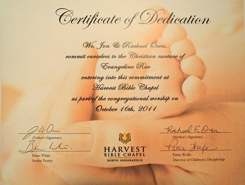 Baby Dedication Certificate Template Our One Piece Life International Adoption Parenting