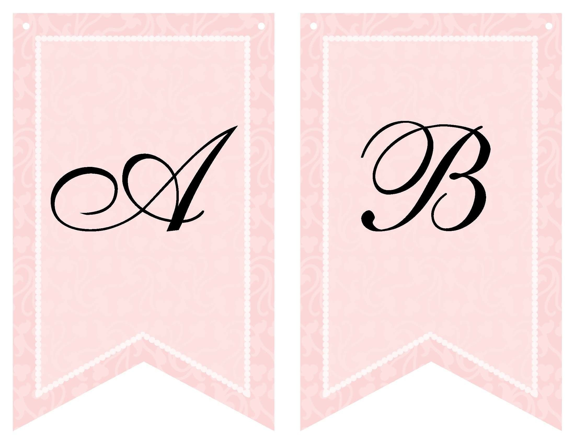 Baby Shower Banner Templates Free Printable Bridal Shower Banner Vow Renewal