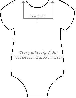 Baby Shower Banner Templates Here S the Template to Make the Onesie Banner for Baby