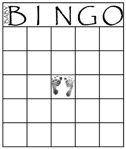 Baby Shower Bingo Template 49 Printable Bingo Card Templates – Tip Junkie