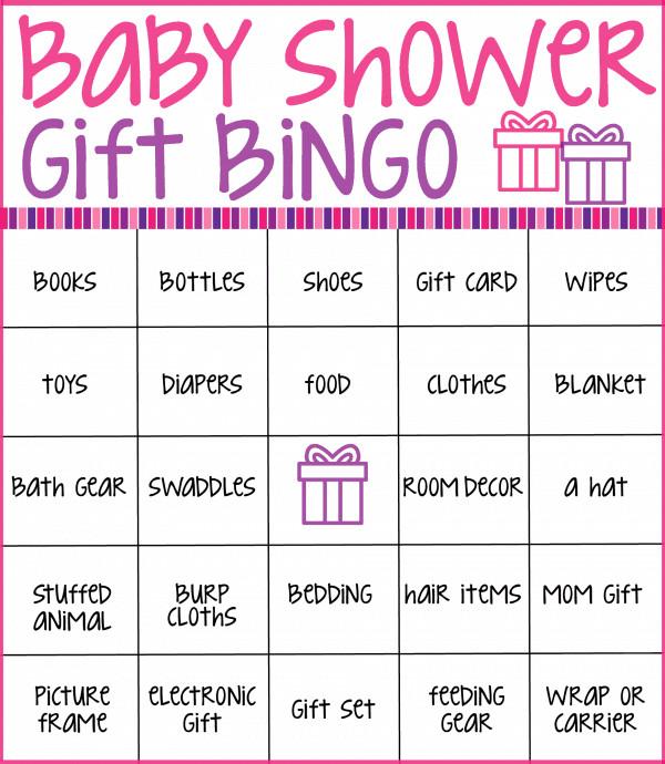 Baby Shower Bingo Template Baby Shower Bingo Cards ⋆ Real Housemoms