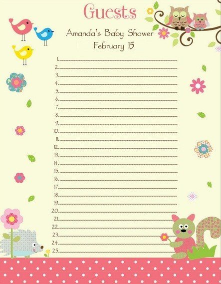 Baby Shower Guest List Baby Shower Guest List who to Invite Cool Baby Shower Ideas