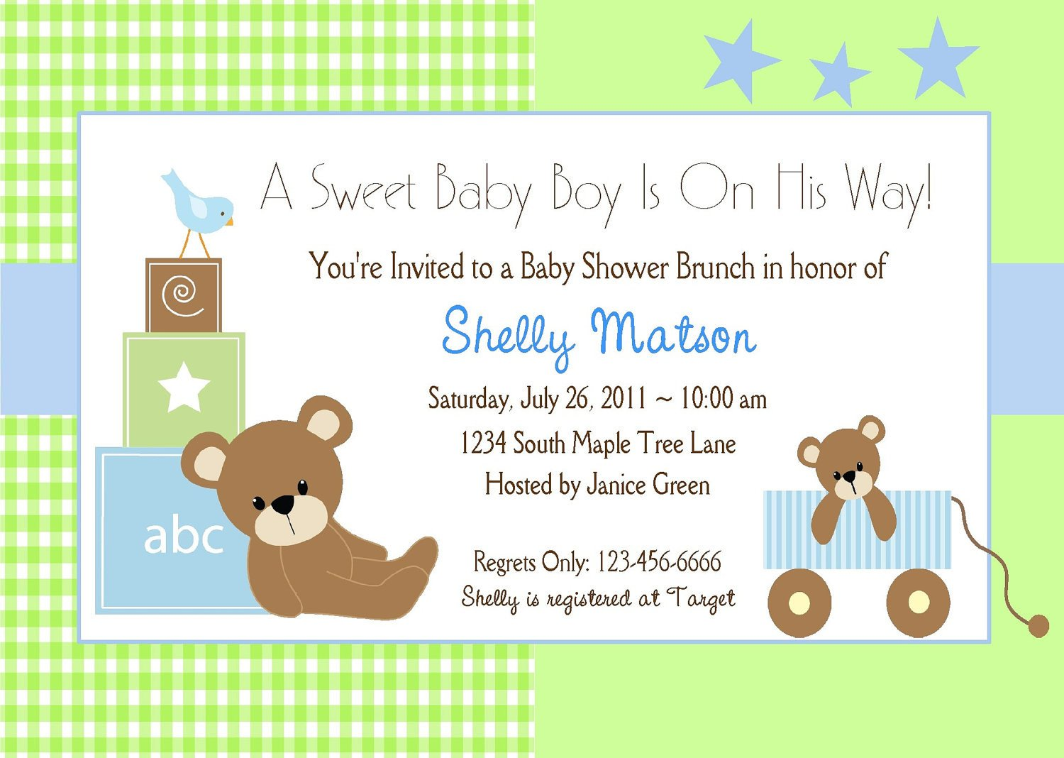 Baby Shower Invitation Free Template Free Baby Boy Shower Invitations Templates Baby Boy