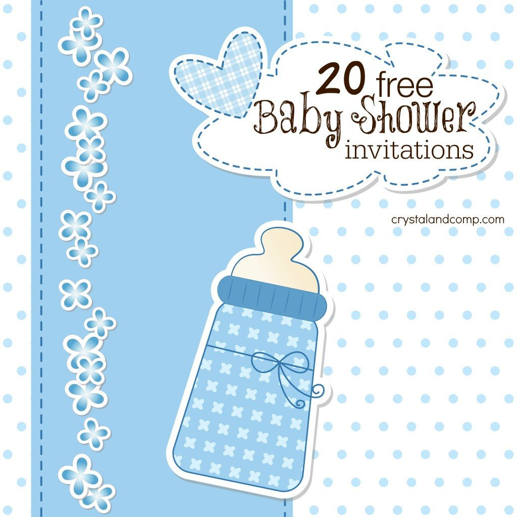 Baby Shower Invitation Free Template Printable Baby Shower Invitations