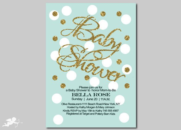 Baby Shower Invitation Template Baby Shower Invitation Template 29 Free Psd Vector Eps