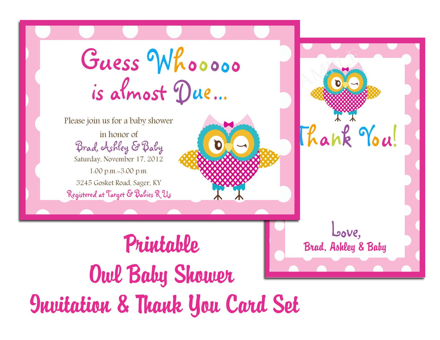 Baby Shower Invitation Template Blog
