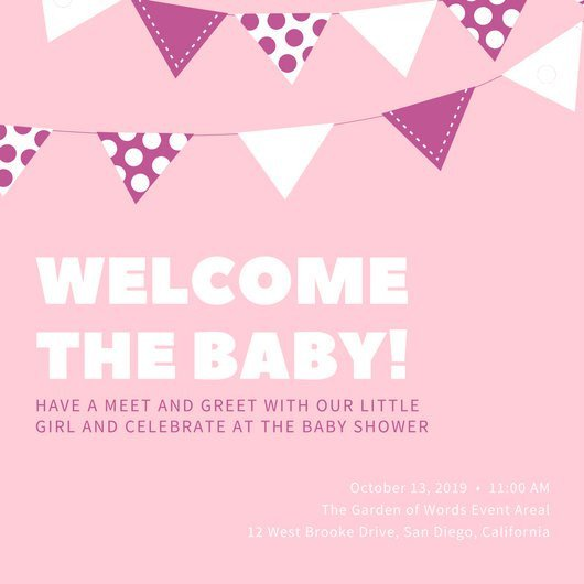 Baby Shower Invitation Template Customize 832 Baby Shower Invitation Templates Online Canva