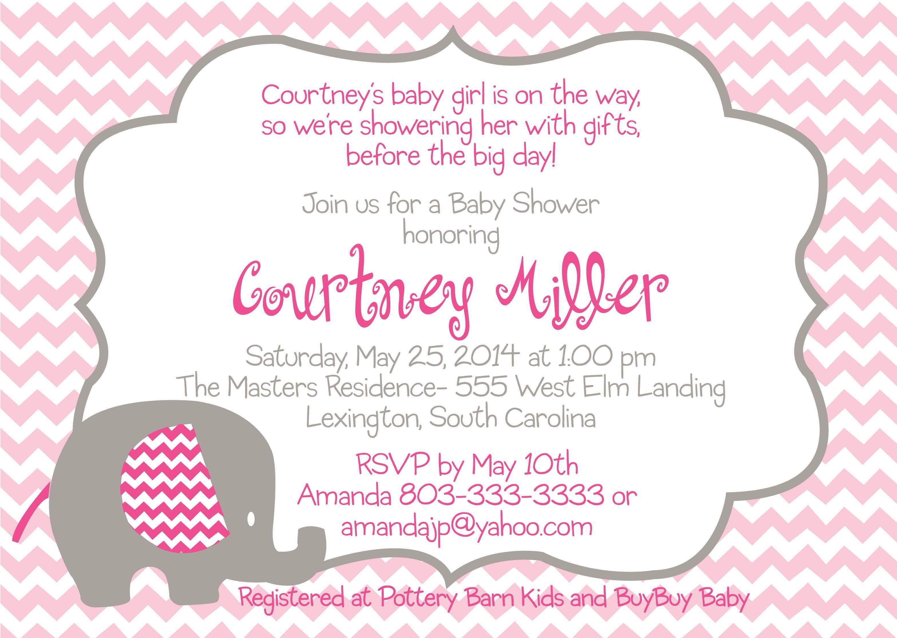 Baby Shower Invitation Template the Fascinating Free Baby Shower Invitation Templates