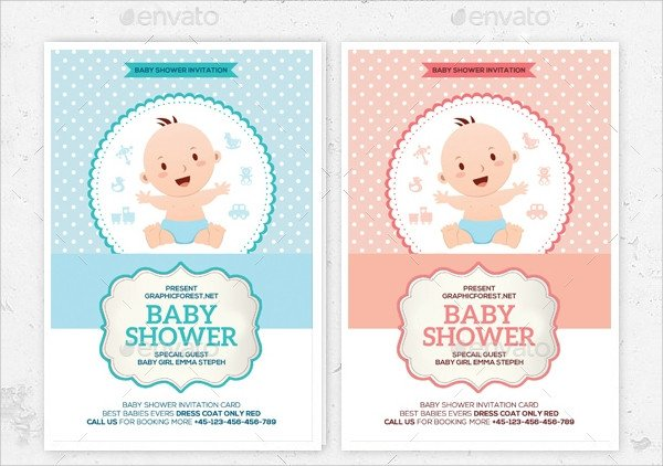 Baby Shower Invitations Templates Editable 25 Sample Baby Shower Invitations Word Psd Ai Eps