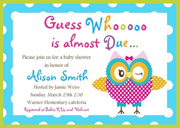Baby Shower Invite Template Word Baby Shower Invitation Templates Word