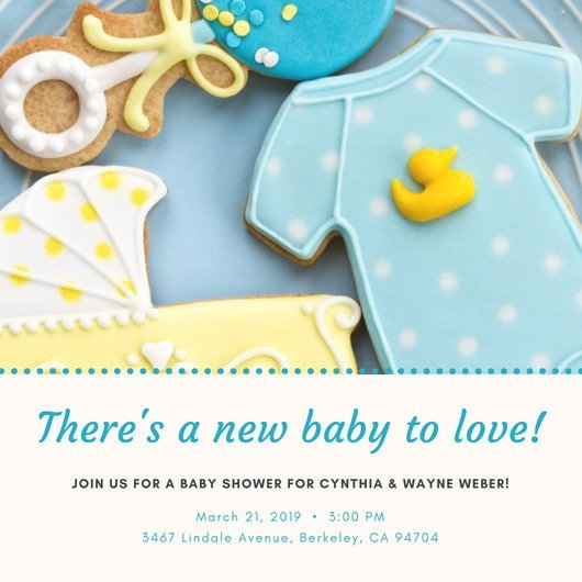 Baby Shower Invite Templates Customize 832 Baby Shower Invitation Templates Online Canva