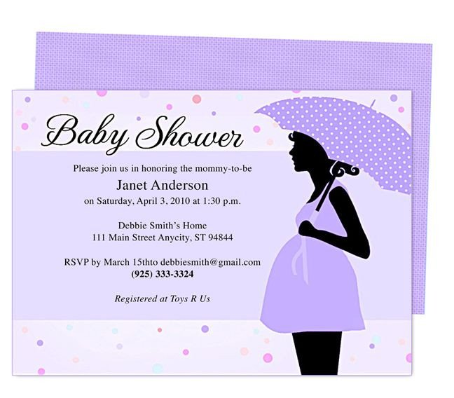 Baby Shower Invite Templates Cute Maternity Baby Shower Invitation Template Edit