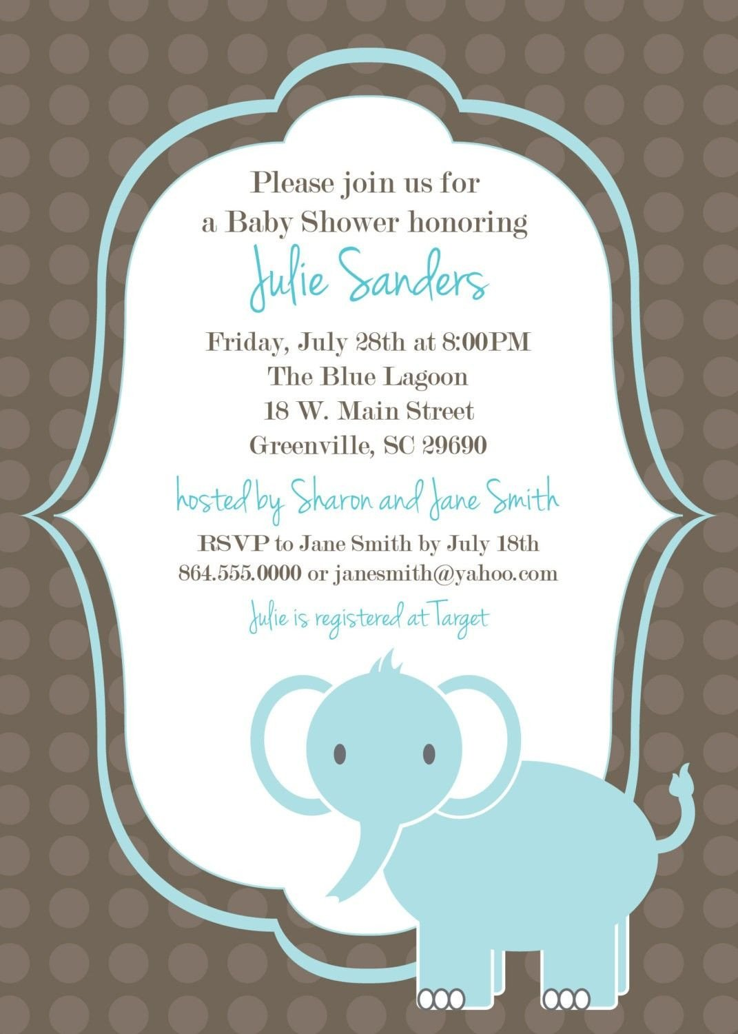 Baby Shower Invite Templates Download Free Template Got the Free Baby Shower